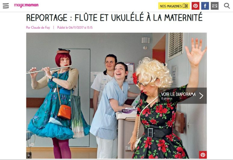 Publication Magi'c Maman - Rire Médecin ©Natacha Soury